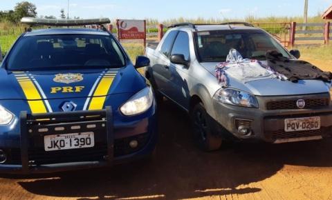 Ladrões batem veículo furtado em Goiás e o abandonam na Br 158 perto de Nova Xavantina