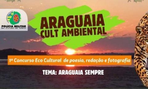 PM de Goiás realiza concurso de redação, foto e poesia sobre rio Araguaia