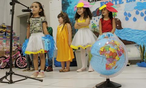 Escolas municipais participam de concurso cultural com apoio da Companhia Águas de Barra do Garças