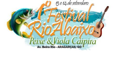 Aragarças abre inscrições do Festival Rio Abaixo Peixe e Viola Caipira