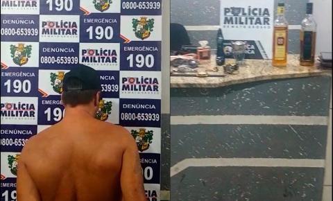Homem é preso por receptação e objetos furtados são recuperados em Barra do Garças