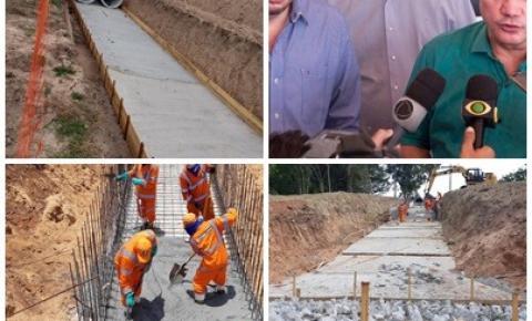 DNIT inicia obras de drenagem urbana do anel viário de Barra do Garças