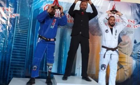 Policiais civis garantem pódio no 1º Campeonato de Parajiu-jitsu em Barra do Garças