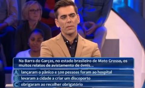 Discoporto de Barra do Garças é destaque em game show de Portugal