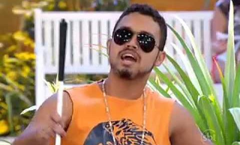 Jefferson Farias, o Ceguinho da Praça é Nossa, fará show no mês de abril em Barra do Garças