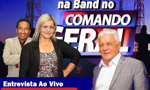Aragarças não tem caso de coronavírus e José Elias fala ao vivo na Tv Band sobre os cuidados que a população deve ter