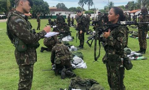 Militares do Sentinela do Araguaia participam de treinamento na fronteira