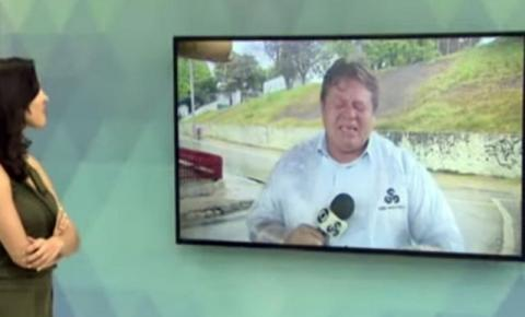 VEJA VÍDEO: repórter chora ao vivo dando notícia de recuperados da Covid no Amazonas