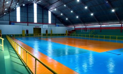 Nova estrutura do ginásio do bairro Santo Antônio será entregue na próxima semana