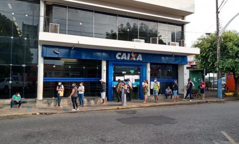 Caixa estará aberta em Barra do Garças no sábado para pagamento do auxílio emergencial