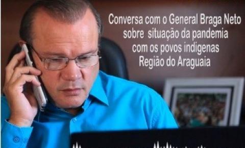 Senador reforça pedido de prefeito para instalar hospital de campanha aos indígenas em Barra do Garças