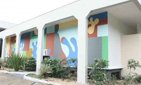 Anfiteatro Fernando Peres passa por reformas e agora é Centro de Cultura e Convenções em Barra do Garças