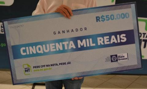 Nota MT distribuirá R$ 250 mil prêmios no sorteio especial de Carnaval dia 18/3