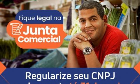 """Campanha """"Fique Legal na Junta Comercial"""" alerta empresários para atualização de dados"""