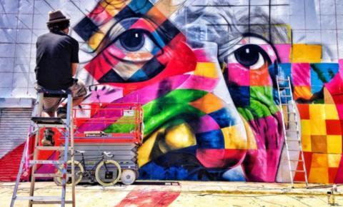 Equipe de grafiteiros levará mais arte ao centro cultural de Barra do Garças