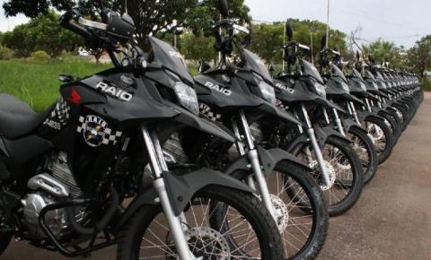 Governador Mauro Mendes entregará 53 motocicletas para o policiamento da PM