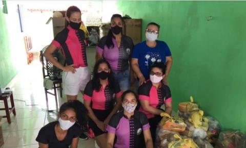 Amigos de Bike distribuem 45 cestas em Nova Xavantina