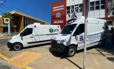 Deputado federal e prefeito de São Pedro destinam ambulância e UTI móvel para Jaciara