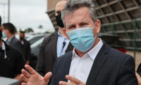 Mauro Mendes alerta se o Estado pagar 'brigará feio para que a vacina fique em MT'
