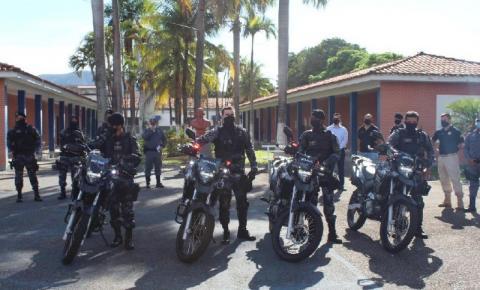 Grupo Car recebe motos novos para reforçar policiamento em Barra do Garças
