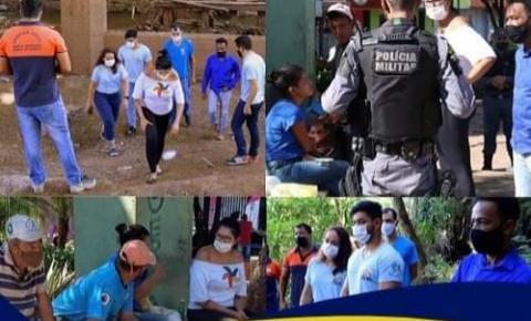 Prefeitura presta atendimento para moradores em situação de rua em Barra do Garças