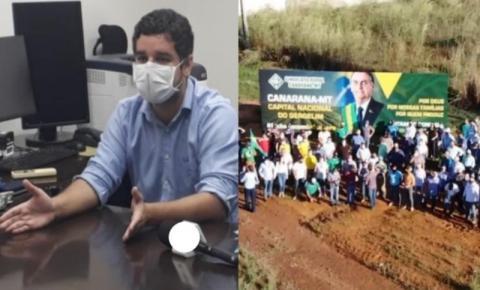 Sindicado Rural pedirá transferência de promotor que mandou tirar outdoor de Bolsonaro