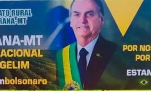Promotor desafia Sindicato Rural para entrevista ao vivo sobre outdoor de Bolsonaro no Araguaia