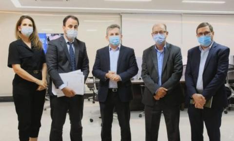 Mauro Mendes anuncia ampliação do hospital de Água Boa e instalação de clínica de hemodiálise