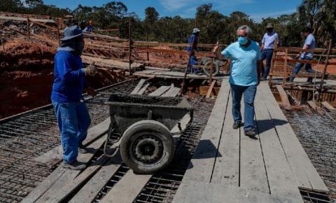 Secretário Marcelo de Oliveira assegura conclusão das obras de pavimentação e pontes da MT 100 ainda em 2021