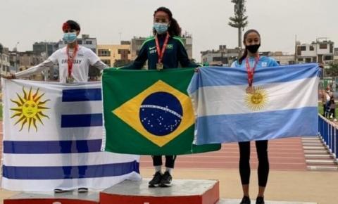 Um atleta de Barra do Garças e mais 2 de MT conquistaram medalhas para o Brasil no Sul-Americano de Atletismo