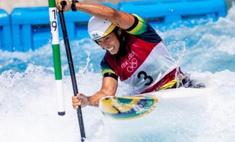 Atleta de MT avança para semifinal e chega forte para brigar por medalha na canoagem em Tóquio