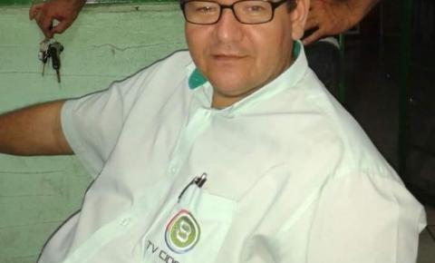 Imprensa de Barra do Garças está de luto com a morte do diretor da TV Record, vítima das complicações da Covid