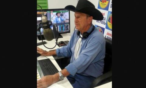 Morre em Barra do Garças, radialista pioneiro no Vale do Araguaia, vítima da Covid