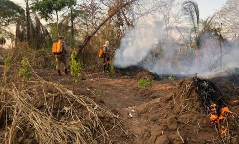 Incêndio atinge reserva indígena novamente em menos de um mês em MT