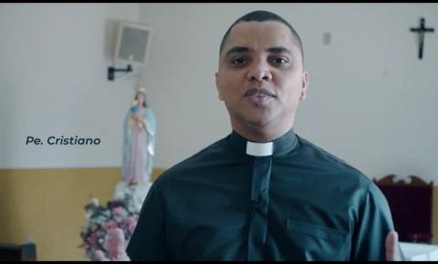 Padre Cristiano convida população para Festa de Nossa Senhora da Guia em Barra do Garças