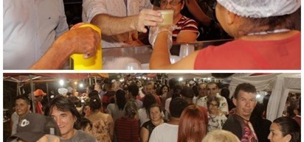 Sete mil pessoas prestigiaram inauguração da feira livre de Barra do Garças